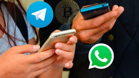 Nuevo bot para Telegram y Whatsapp permite comprar bitcoin y criptomonedas en Colombia