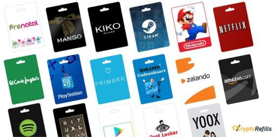 CryptoRefills permite pagar con Bitcoin en cadenas de tiendas en línea de España