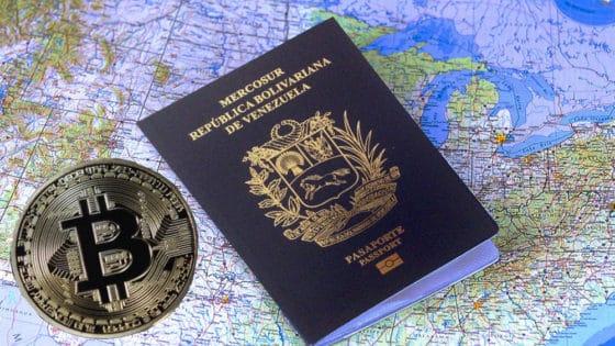 Venezuela acepta pagos con bitcoin para trámites de pasaportes