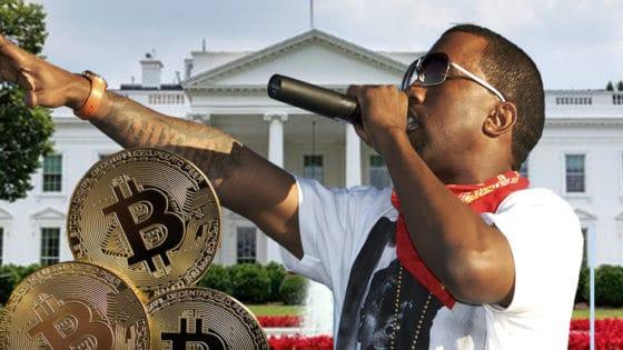 Candidatura de Kanye West acerca a Bitcoin a la Casa Blanca