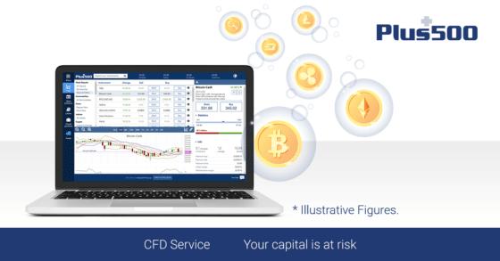 Plus500: Trading con contratos por diferencia (CFD) de Bitcoin y criptomonedas