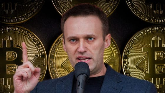 Donaciones en bitcoin a opositor de Putin ya suman 3,3 millones de dólares