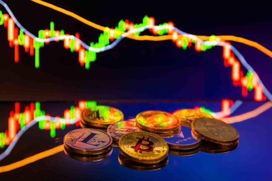 Comercio en casas de cambio de criptomonedas retrocedió casi 50% en junio