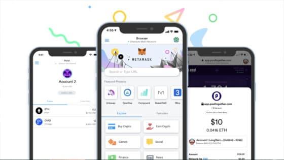 Nueva app móvil de Metamask permite comprar ether con Apple Pay y navegar la Web3