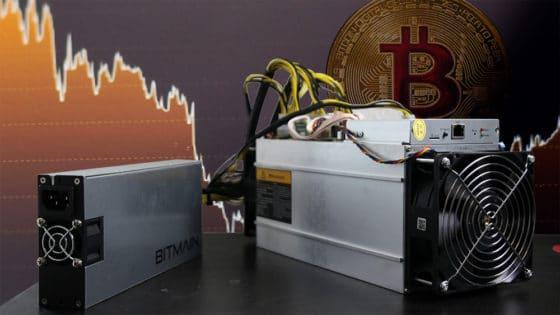Hashrate de bitcoin cae 40% en medio de la tendencia alcista de las criptomonedas