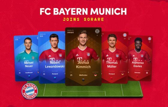 Bayern de Múnich, campeón de Champions League, llega con coleccionables a Ethereum