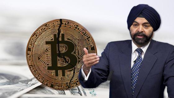 CEO de MasterCard: bitcoin no es la herramienta para ayudar a los desbancarizados