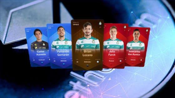 El fútbol mexicano llega a Ethereum con los coleccionables del club Santos Laguna