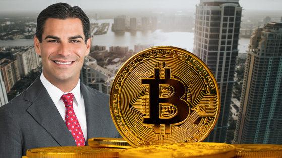 Alcalde de Miami pondría una parte de la tesorería de la ciudad en bitcoin