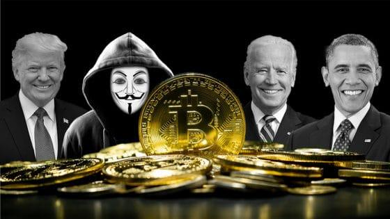 ¿Una moneda de bitcoin con la cara de Biden, Trump, Obama, Musk, Messi o Satoshi?