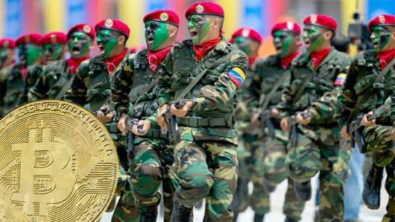 Una granja de minería de Bitcoin, la estrategia del ejército de Venezuela para financiarse
