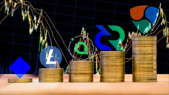 NEM y Decred de primeras en el top semanal mientras el mercado avanza