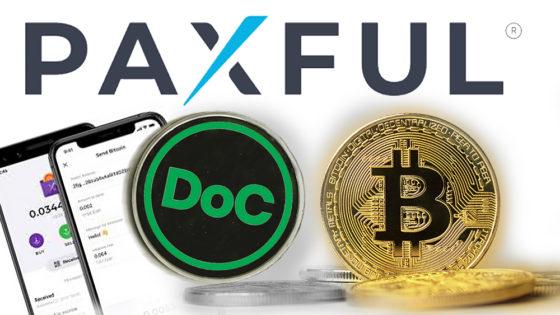 Paxful incorpora Dollar On Chain, stablecoin respaldada por bitcoin en RSK