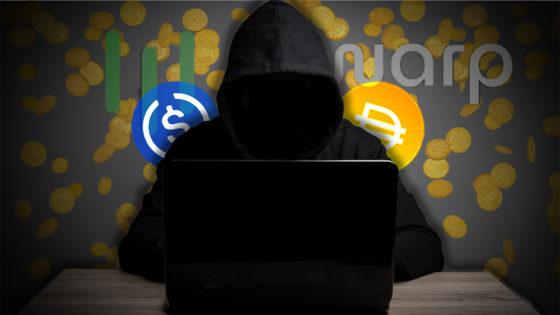 Otro ataque DeFi: robados USD 8 millones en stablecoins de Warp Finance