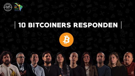 10 bitcoiners responden: serie de videos sobre bitcoin para viajar en La Bitcoineta