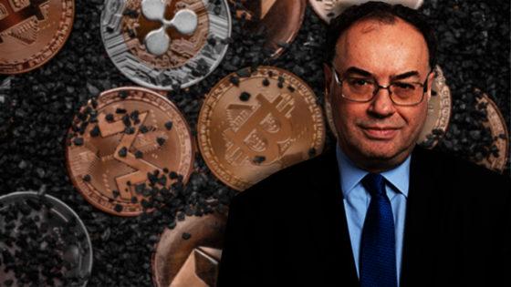 Bitcoin y otras criptomonedas no serán duraderas, según gobernador del Banco de Inglaterra