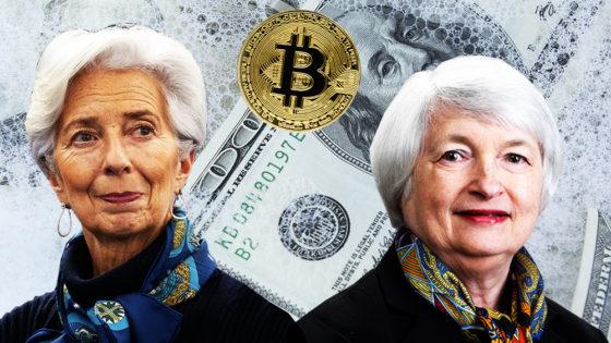 Mientras bancos permiten lavado de dinero, Lagarde y Yellen quieren regular Bitcoin