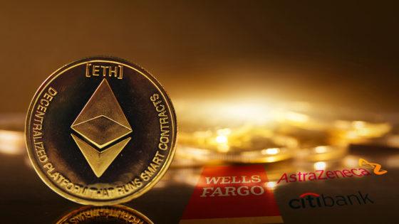 Ethereum más valioso que Citigroup, Wells Fargo y AstraZeneca