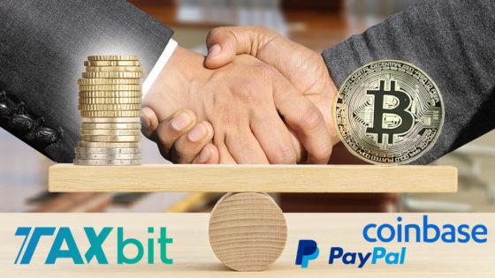 Paypal y Coinbase invierten en empresa de impuestos para bitcoin