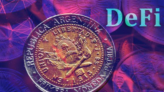 El peso argentino llega a las DeFi en esta plataforma de préstamo