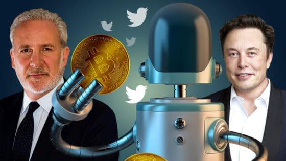 Este bot apuesta al alza o baja de bitcoin cuando Musk, Schiff u otro famoso lo nombre