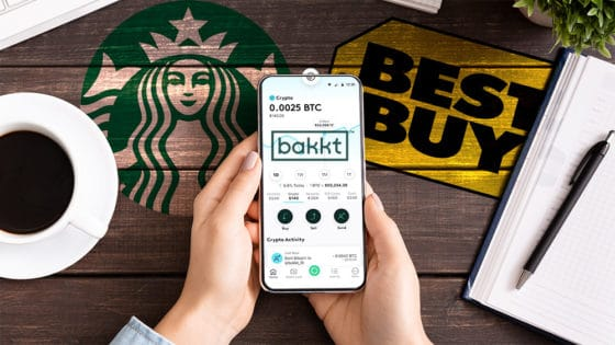 Bakkt lanza su monedero de bitcoin en sociedad con Starbucks y Best Buy