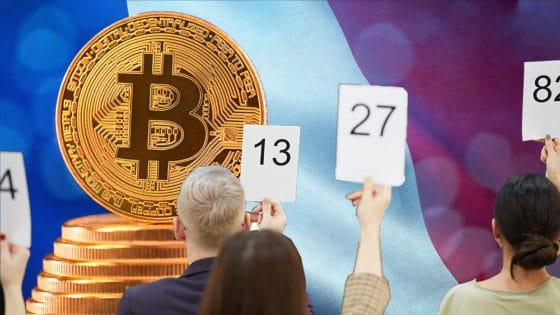 1.500 personas se registraron para la primera subasta de bitcoins en Francia