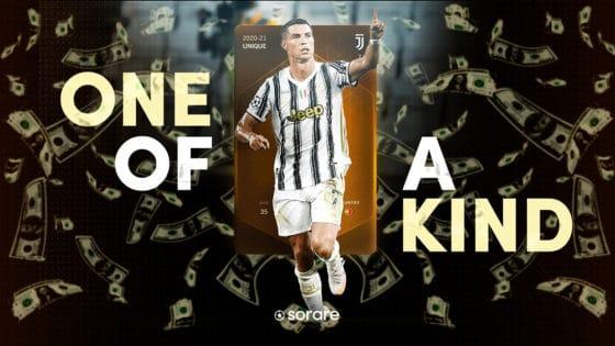 Cristiano Ronaldo también rompe récords en el mundo de los NFT