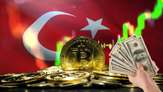 Bitcoin se comercia hasta por USD 90.000 en Turquía en medio del colapso de la lira