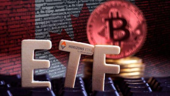 Con este ETF puede ganarse dinero cuando baja el precio de bitcoin