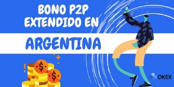 OKEx extiende la duración de su promoción de trading P2P en Argentina