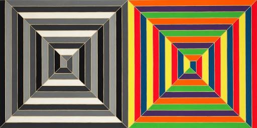 Frank Stella Untitled