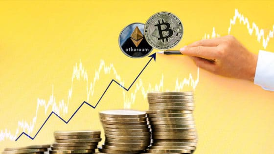 Bitcoin y ether alcanzan máximos históricos en intensificación del ciclo alcista