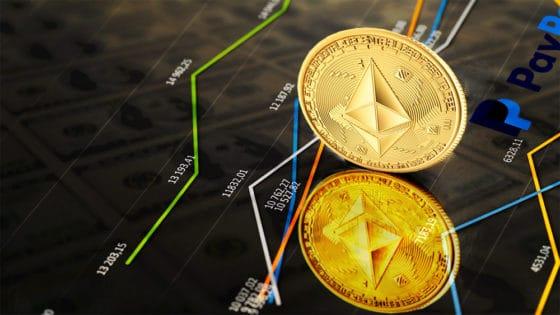 Ethereum supera a PayPal en capitalización de mercado tras nuevo precio máximo histórico