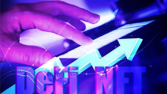 NFT y DeFi impulsan en más de 600% el uso de aplicaciones descentralizadas