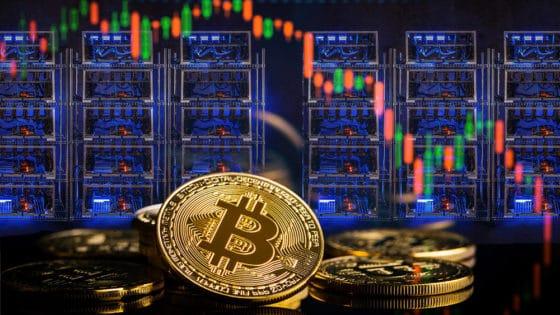 Caída de 40% del hash rate de Bitcoin provoca retroceso de 14% en el precio