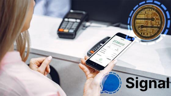 Las transacciones dentro de Signal se harán con la criptomoneda MobileCoin, MOB