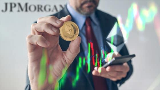 Ethereum ahora es más valioso que JP Morgan y está a punto de sobrepasar a Visa