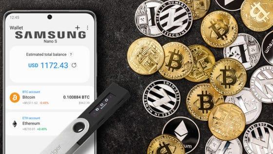 Samsung añade soporte a hardware wallets en su cartera de criptomonedas