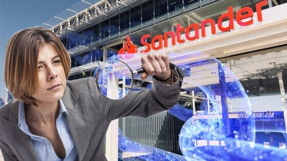 Banco Santander prueba análisis de blockchains para rastrear operaciones con criptomonedas