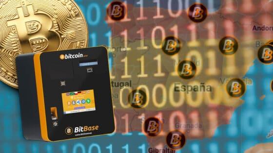 Bitbase ahora es el exchange con más cajeros automáticos de bitcoin en España