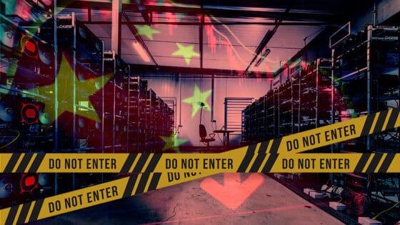 Con China cerrando granjas, hash rate de bitcoin cae a niveles de hace un año