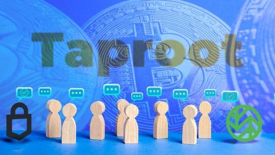 Solo tres monederos de bitcoin han anunciado planes de adoptar Taproot hasta ahora