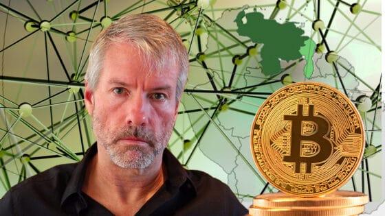 Michael Saylor cree que bitcoin es clave para enfrentar la crisis de Venezuela