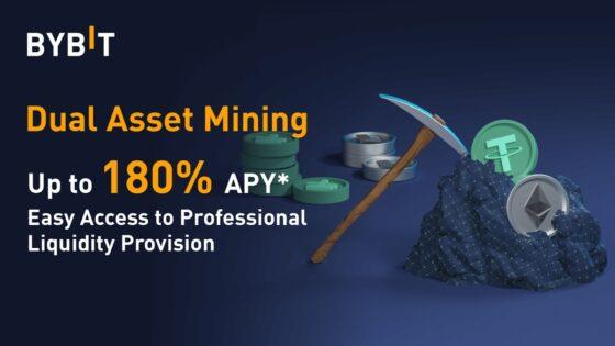 Bybit lanza su servicio de Minería de Activos Duales para hacer staking