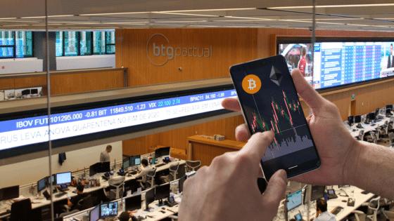 Brasil: banco de inversión ofrecerá trading de bitcoin y ether a sus clientes