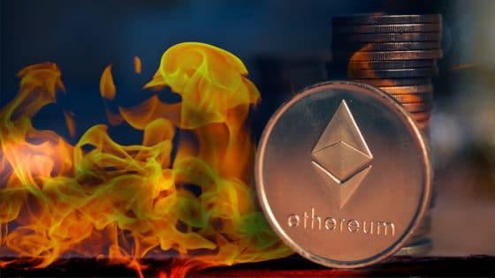 Inflación anual en Ethereum se reduce en 35% con la quema de ETH