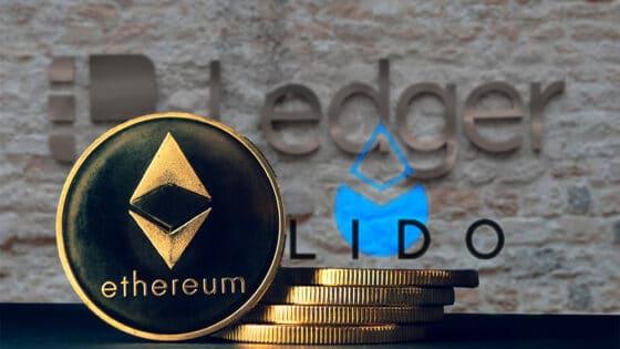 Ledger permite generar intereses de staking en Ethereum 2.0 con la DeFi Lido