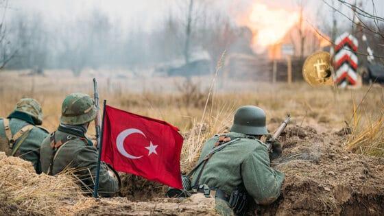 «Estamos en una guerra contra Bitcoin», dice el presidente de Turquía