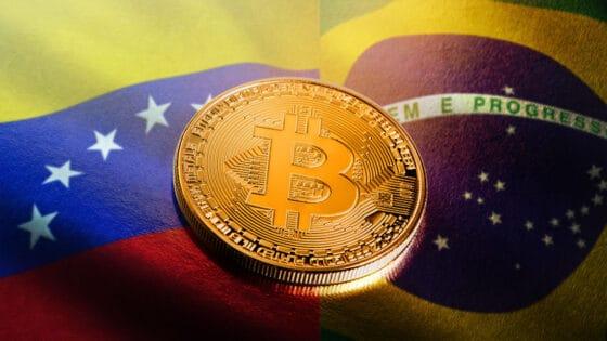 Brasil y Venezuela: dos caras distintas del uso de bitcoin en Latinoamérica